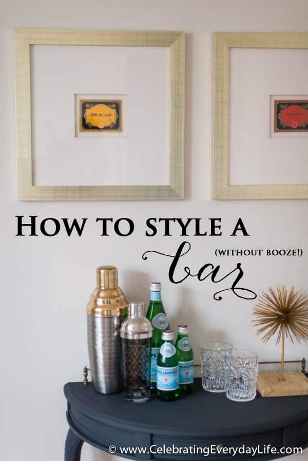 How to Stage a Bar (without booze!)