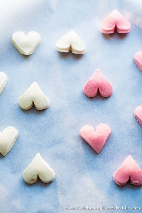 ready to bake heart shape cookies, Heart Ice Cream Sandwiches, Easy Valentine Dessert, Cookie Dessert Ideas, Ice Cream Dessert Ideas, Celebrating Everyday Life with Jennifer Carroll