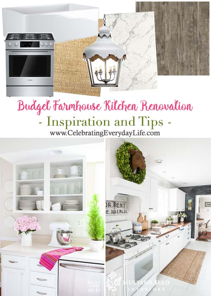 Budget Farmhouse Kitchen Renovation Inspiration And Tips