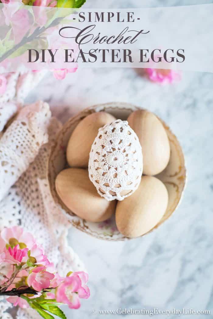 Simple DIY Crochet Easter Eggs