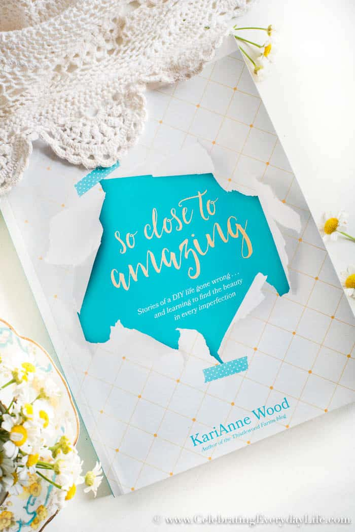 So Close to Amazing Book Review, So Close to Amazing by KariAnne Wood Thistlewood Farms blog