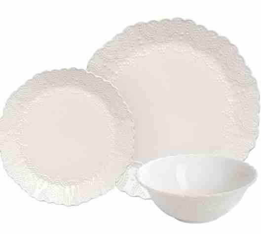 Scalloped Embossed Bone China, Thanksgiving Essentials