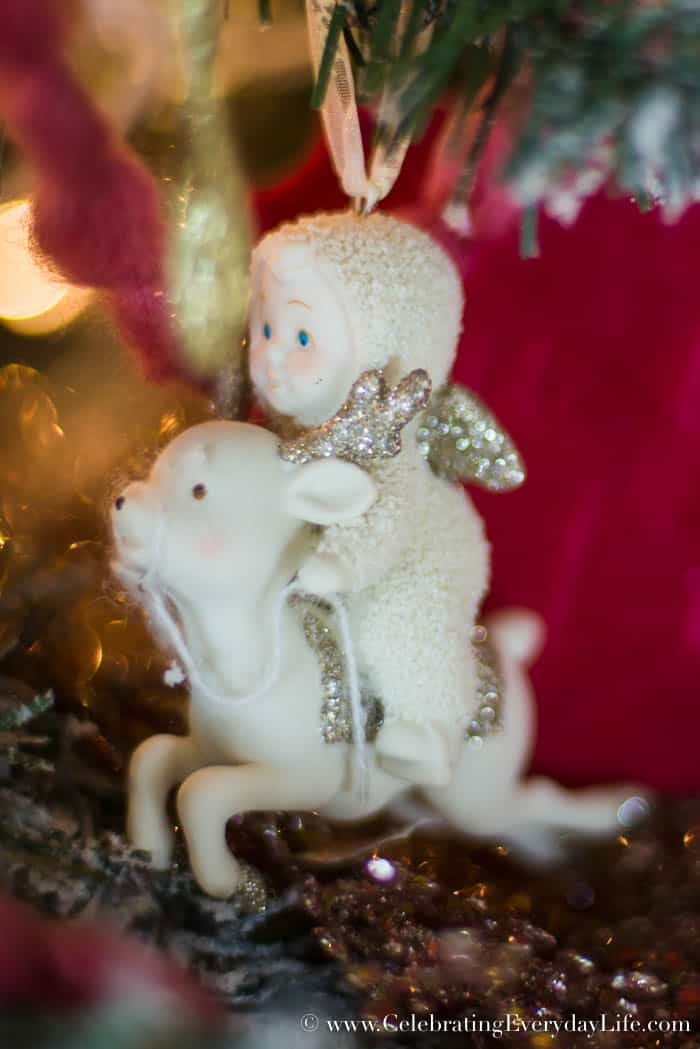 how to make your shabby chic christmas tree spectacular snowbabies ornaments
