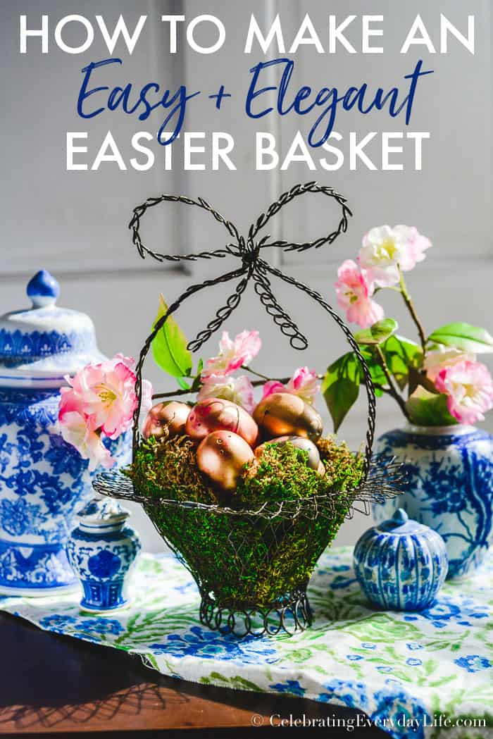 easy diy Easter basket