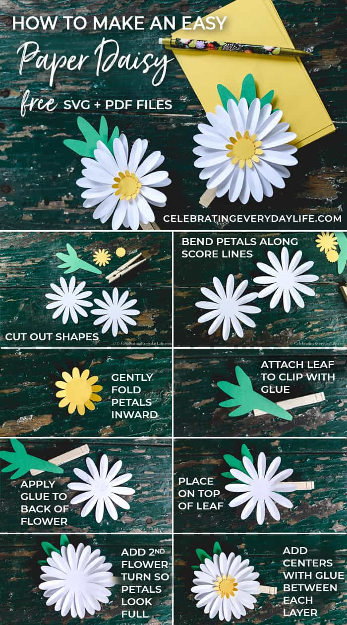 How To Make An Easy Paper Daisy