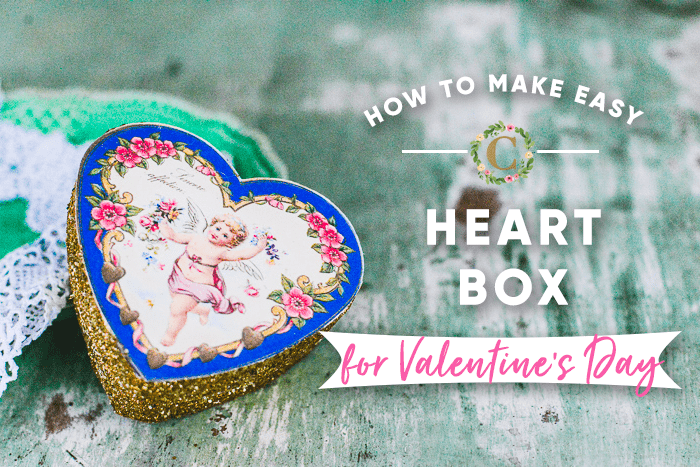 How to Make an Easy Heart Box for Valentine's Day
