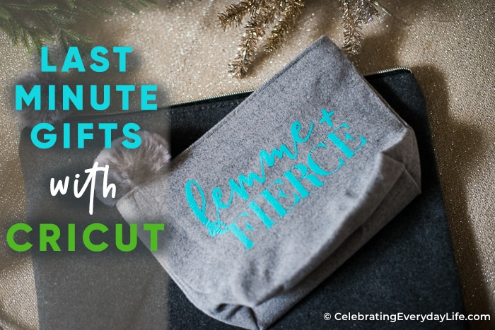 Last-Minute Gift Ideas with Cricut