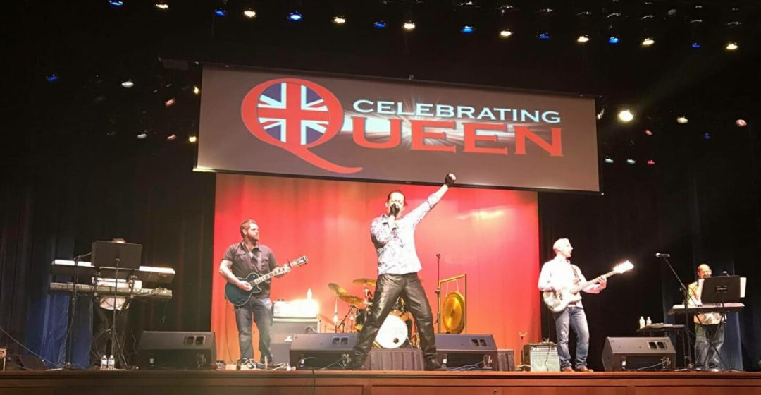 Celebrating Queen Band on Stage