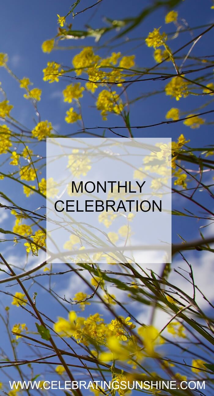 Monthly Celebration is my way of highlighting the best moments of my month, and a great opportunity to acknowledge and be grateful for everything that brought me joy.