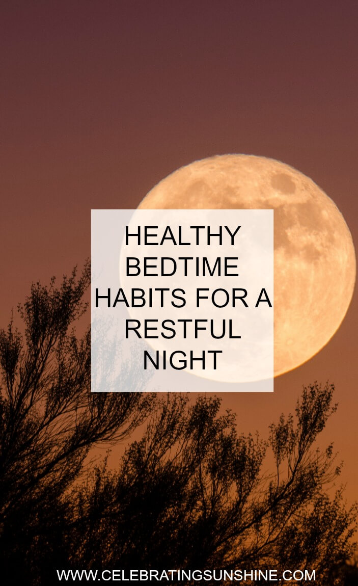 Healthy bedtime habits for a restful night