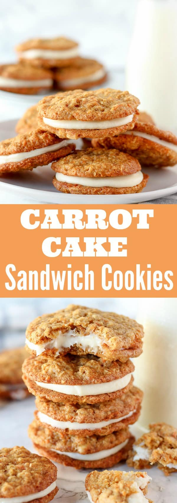 Carrot Cake Sandwich Cookies Cooking Light