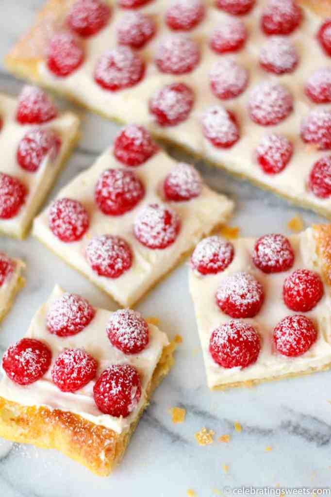Raspberry Lemon Cream Tart ~ Celebrating Sweets