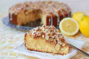 Lemon Almond Coffee Cake from celebratingsweets.com