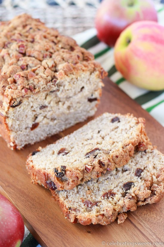 Grated Apple Spice Cake