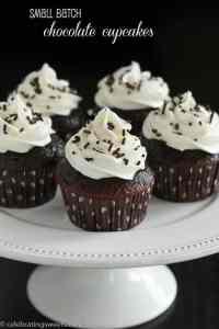 Small Batch Chocolate Cupcakes-2