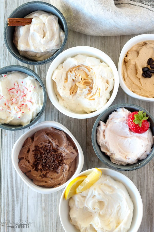 Easy Homemade Whipped Cream - TEN flavor options!