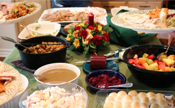 holiday potluck dinner