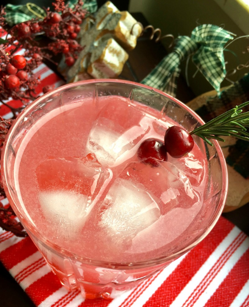 These festive Cranberry Margaritas are the perfect cocktails for your holiday parties!