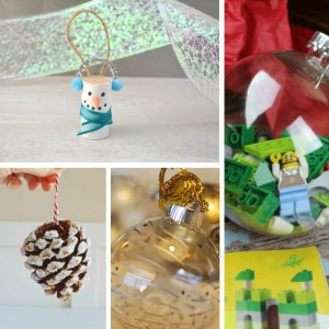 10 Cute and Easy DIY Christmas Ornaments