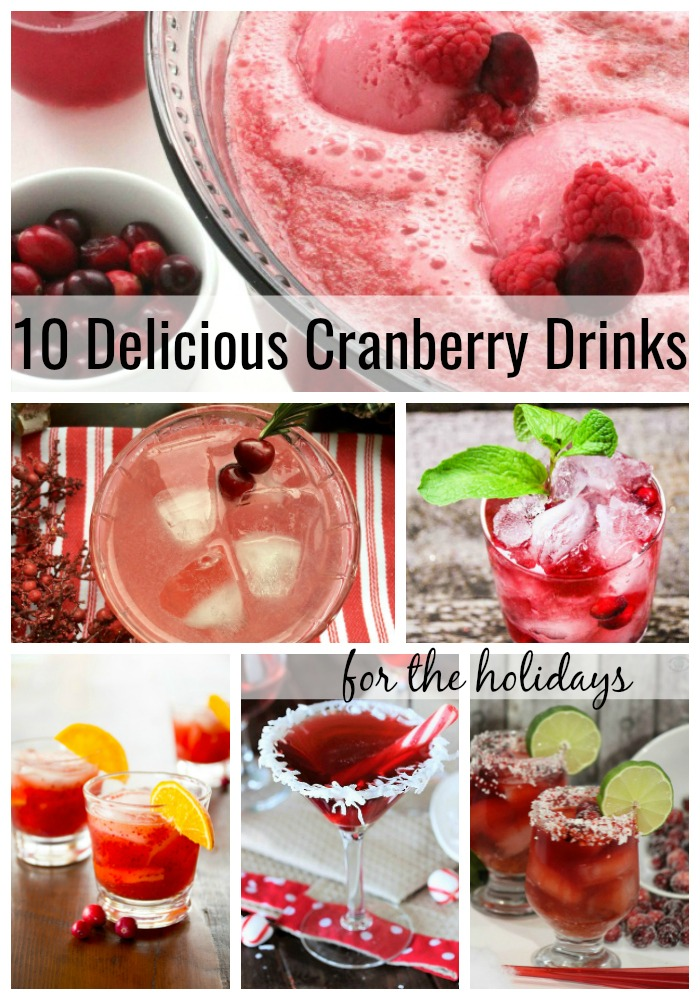 10 Delicious Cranberry Drinks for the Holidays.