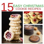 15 Easy Christmas Cookie Recipes