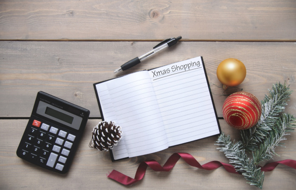 5 tips to make a Christmas budget - and how to stick to it! Make a list of gifts to buy and other holiday expenses.