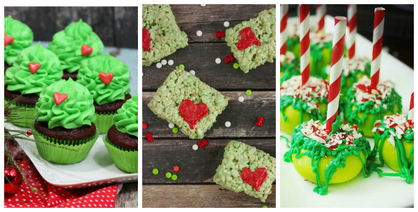 Grinch Inspired Treats