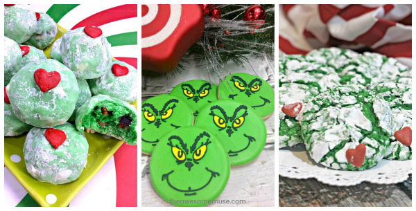 Grinch Cookie Recipes