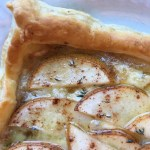 Savory Pear and Brie Tart Recipe