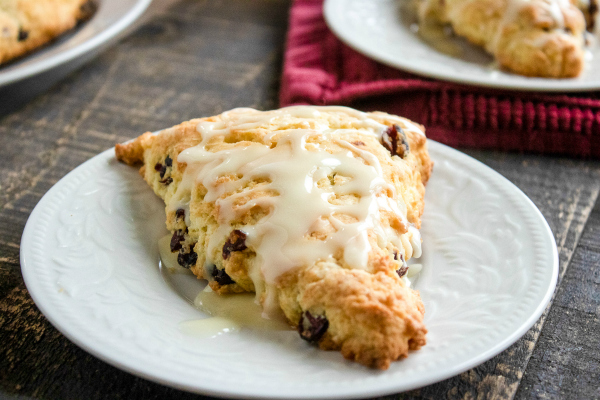Easy Cranberry Orange Scones Recipe
