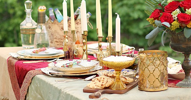 Moroccan Inspired Party Tablescape Amp Party Ideas