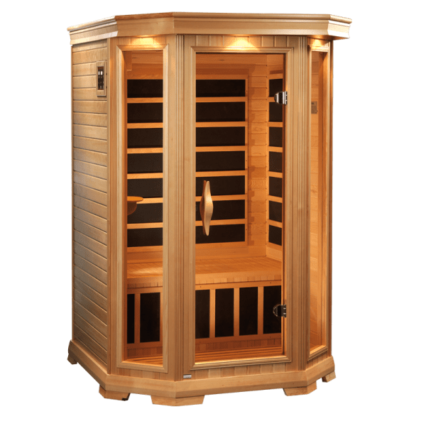 Satellite 2 Person Infrared sauna | Celebration Saunas ...