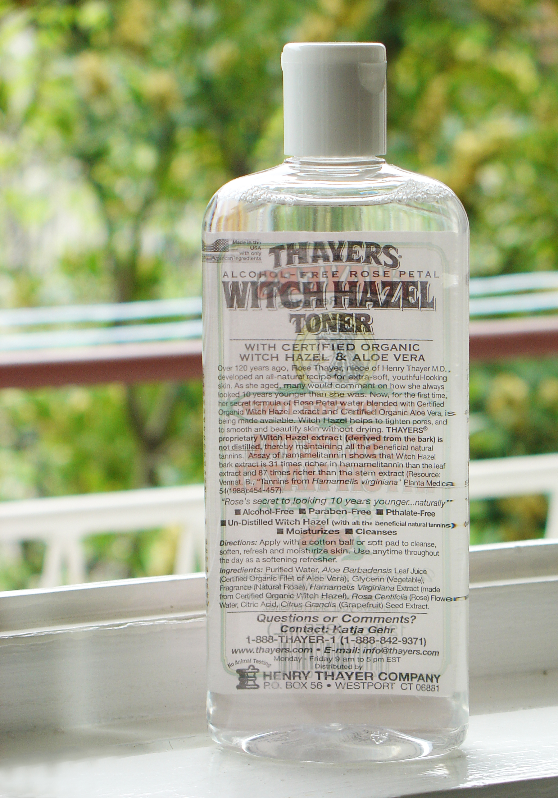 thayers Thayers Rose Petal Witch Hazel Toner
