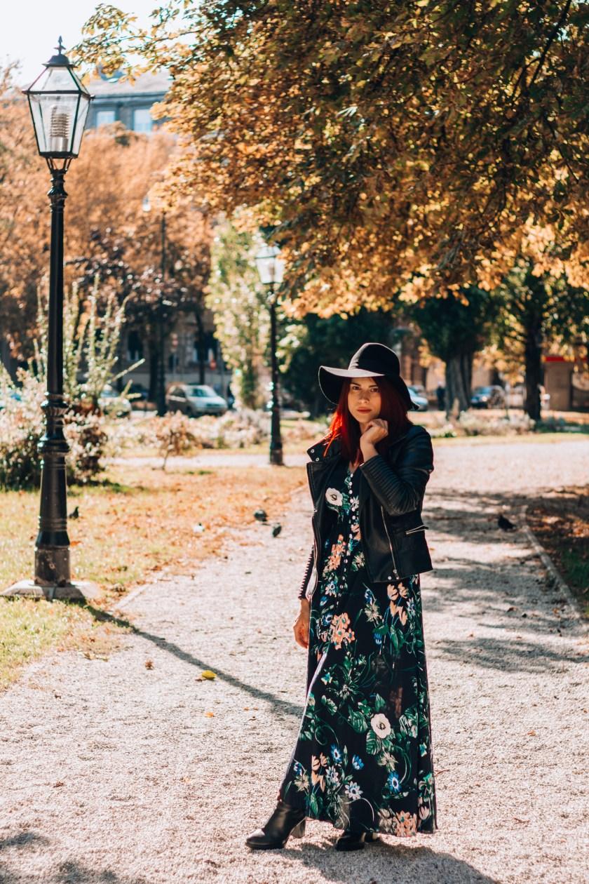 long floral maxi dress shein celebrenbeauty