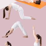 pregnancy yoga infographic