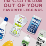 laundry soap for leggings and sports bras
