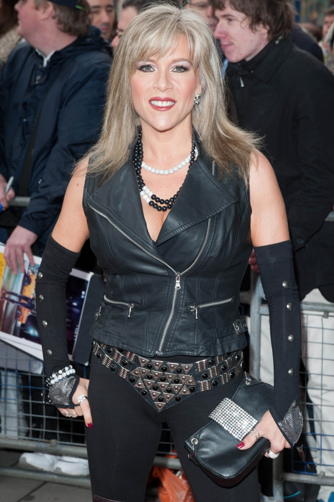 Samantha Fox Measurements Weight Height Ethnicity Hair Color