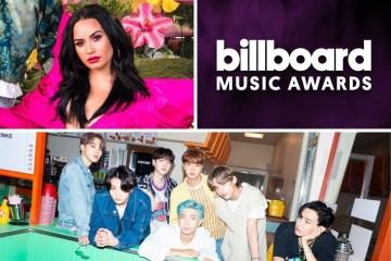 Los Billboard Music Awards anunciaron presentaciones de BTS y Demi Lovato