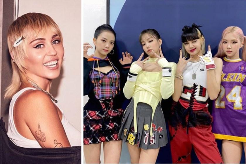 A Miley Cyrus le gustó escena de documental de BLACKPINK