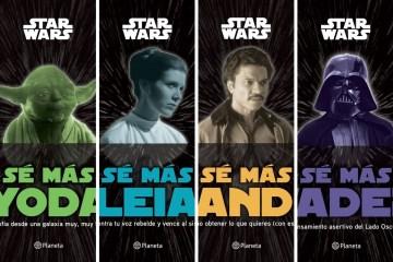 4 libros de Star Wars