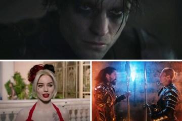 Las próximas cintas de DC Comics y Warner Bros