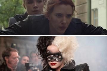 Black Widow y Cruella
