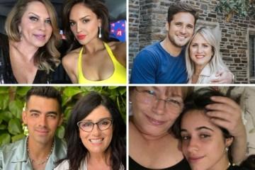 Famosos como Camila Cabello, Diego Boneta, Joe Jonas y Eiza González celebraron el Día de las Madres.