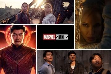 Estrenos de la Fase 4 del Universo Marvel.