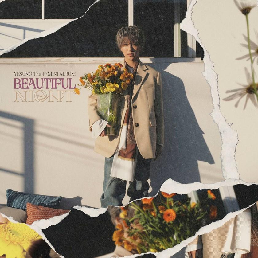 """Beautiful night, nuevo mini-disco de Yesung, incluye el track """"Corazón perdido (Lost heart)""""."""