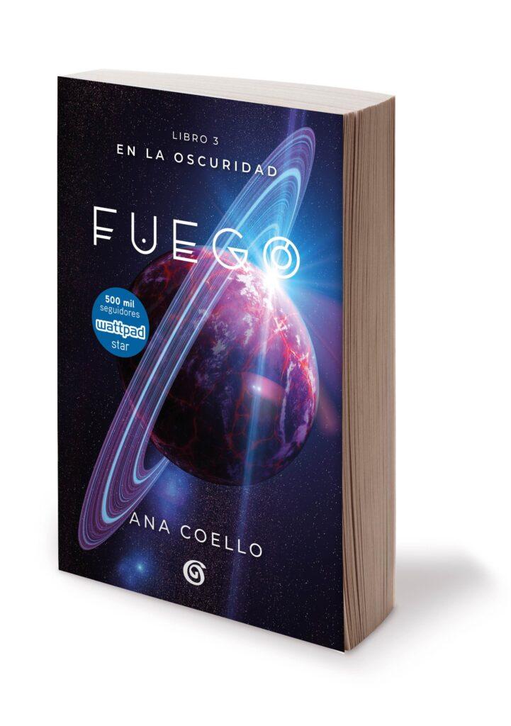 Fuego es la nueva novela de Ana Coello.