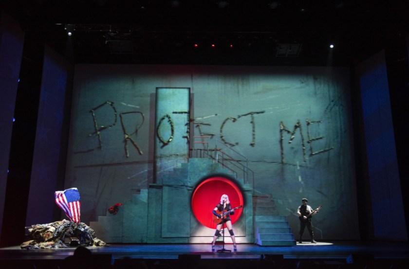 Madonna en el show Madame X.