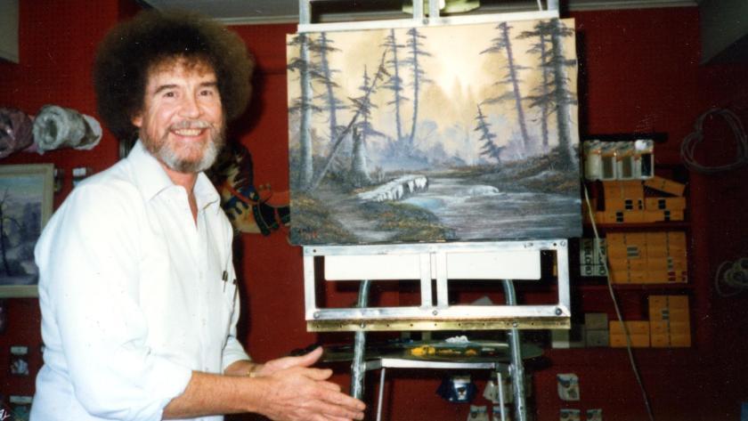 El pintor Bob Ross llega a Netflix.