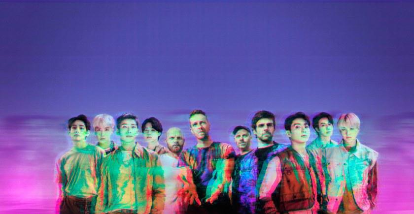 """Coldplay y BTS cantarán """"My universe"""""""