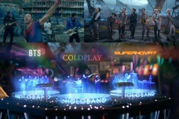 """Coldplay y BTS estrenaron el video de """"My universe""""."""